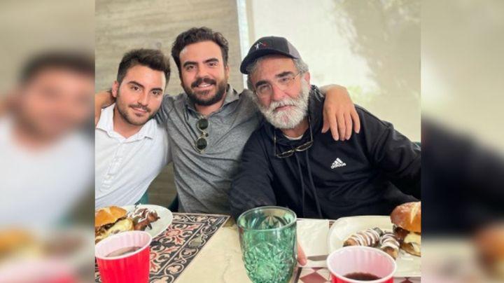 A una semana de su reaparición, Vicente Fernández Jr. se hace drástico cambio de 'look'