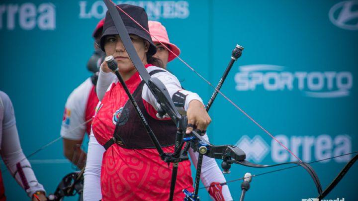 La sonorense Alejandra Valencia se cuelga dos medallas en la Copa del Mundo de tiro con Arco