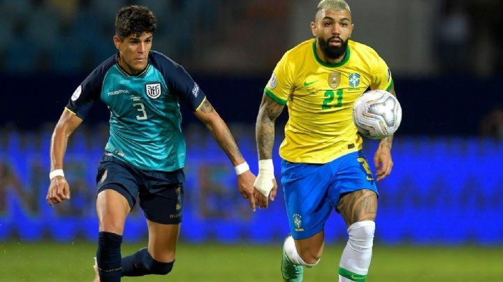 Ecuador empata por la mínima con Brasil y avanza de panzazo a Cuartos de Final