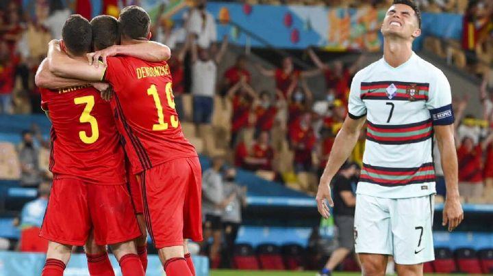 Se termina el sueño para Portugal y Cristiano Ronaldo; Bélgica avanza a los cuartos de final