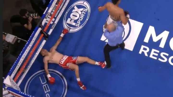 Cázares es noqueado de manera fulminante por Morell Jr y le dice adiós a su sueño de pelear con 'Canelo'