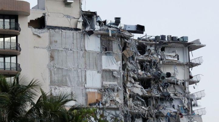 ¡Terrible! Van 10 muertos y 151 desaparecidos tras derrumbe en Miami; piden ayuda a familiares