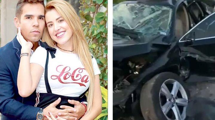"""""""Disfruten la vida"""": Emir Pabón confiesa en 'VLA' que su esposa y él casi mueren en brutal accidente"""