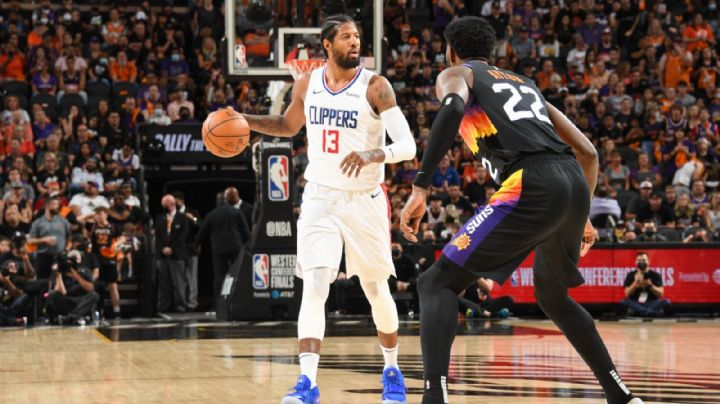 ¡Se enciende! Paul George mantiene con vida a los Clippers ante los Suns