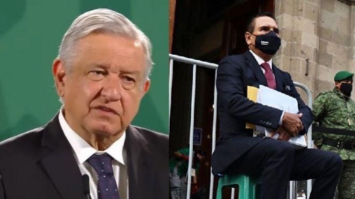 Insiste: Silvano Aureoles pide ver a AMLO; presentaría pruebas que vinculan al narco con Morena