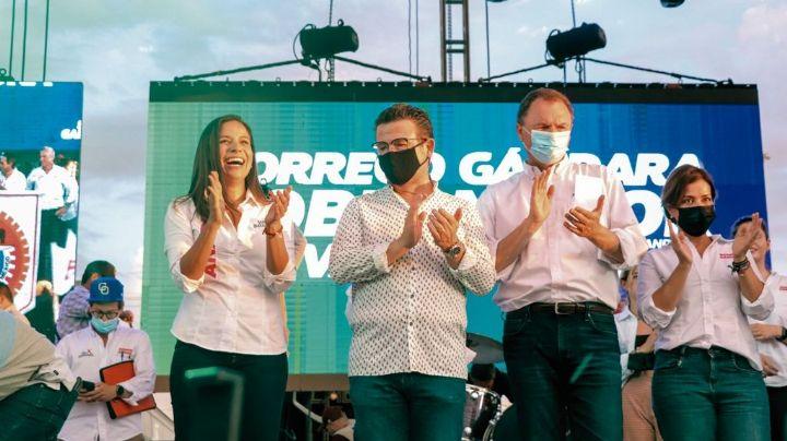 Ricardo Bours y Ernesto Gándara se unen 'por el bien de Sonora' en gran cierre en Cajeme
