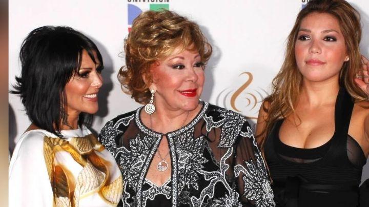 ¿Reencuentro entre Frida Sofía y la Guzmán? Silvia Pinal posa en tierna FOTO junto su nieta e hija