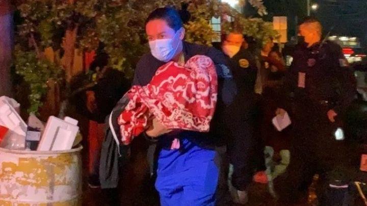 Terrible madrugada: Bebé de 6 meses es abandonado por su madre; lloraban desesperado