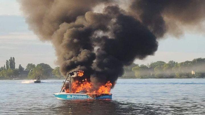 VIDEO: Tripulantes homofóbicos insultan a familia LGBT y en seguida su bote se incendia