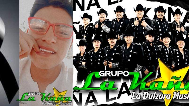 Luto en Sonora: Muere miembro del Grupo La Kaña; Ángel de 19 años se electrocutó en mitin político