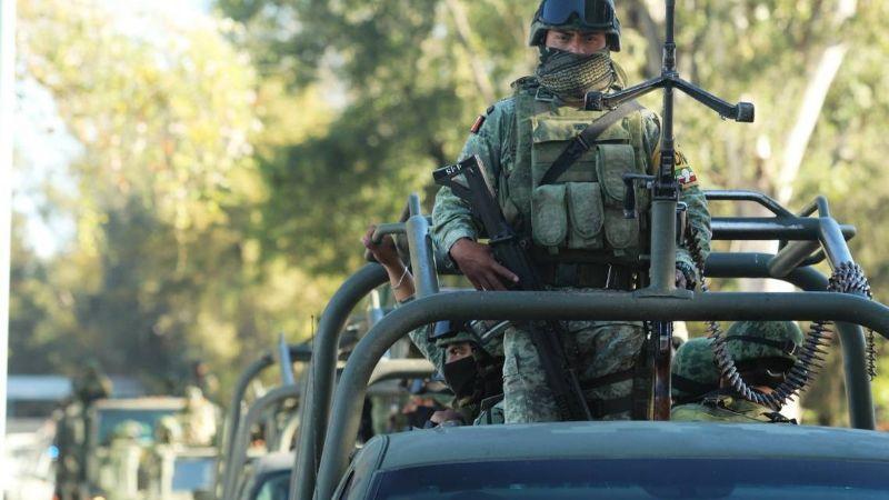 Detienen a 5 integrantes de La Familia Michoacana tras enfrentarse con el Ejército en el Edomex