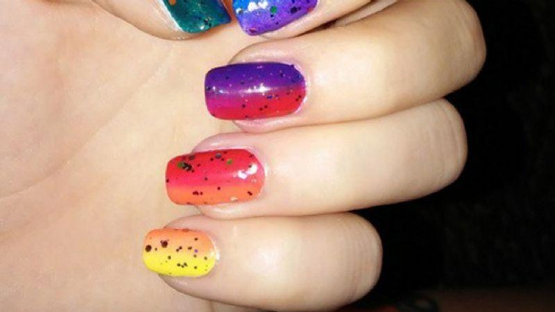 Luce fenomenal con estos diseños de uñas; son ideales para celebrar el Mes del Orgullo LGBT