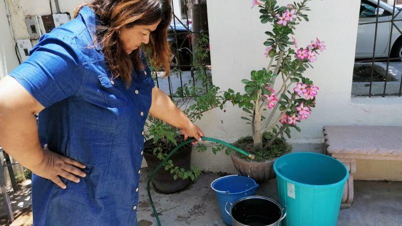 Escasez de agua se agrava en Navojoa; vecinos exigen pronta solución al Oomapas