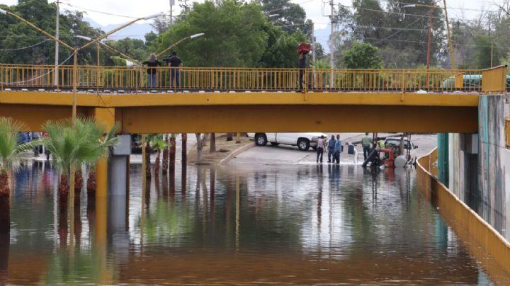 Desarrollo Urbano en Cajeme busca solución a inundación del paso a desnivel