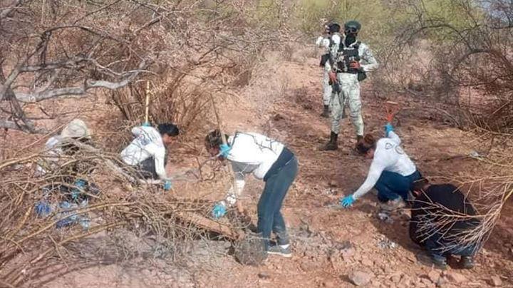 Otro hallazgo en Sonora: Encuentran restos humanos totalmente calcinados en Guaymas