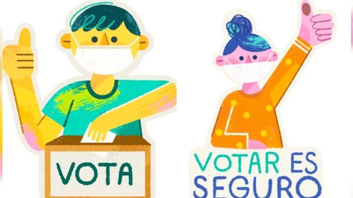 'Elecciones 2021': Los stickers creados por WhatsApp para este próximo 6 de junio