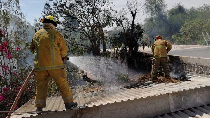 Incendios se vuelven recurrentes en Huatabampo; afectan a las familias vulnerables