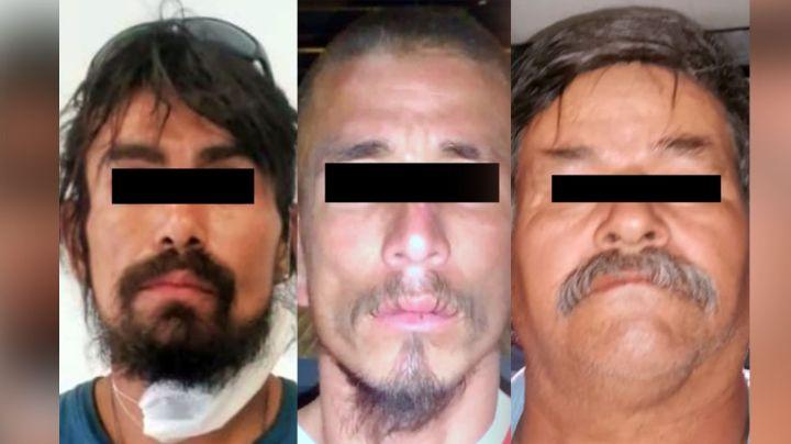 FGJE investiga a tres hombres por el incendio de unas palmeras en Hermosillo