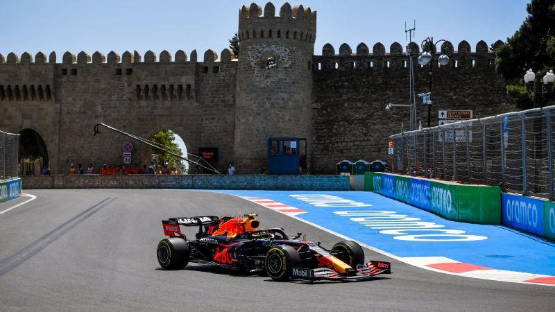 ¡Como en casa! 'Checo' Pérez y Red Bull dominan práctica en Azerbaiyán