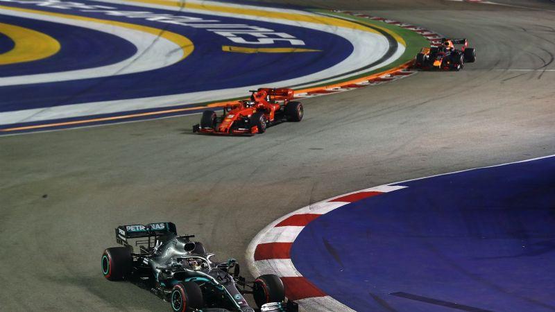 Ya es oficial: Cancelan el Gran Premio de Singapur de la Fórmula Uno