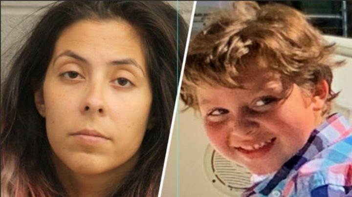 Asesina de Samuel Olson pretendía huir de Texas con el cadáver del niño en una maleta