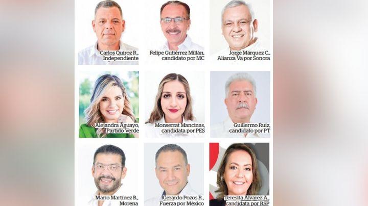 Sonora Decide: Estos son los candidatos contienden por la alcaldía de Navojoa