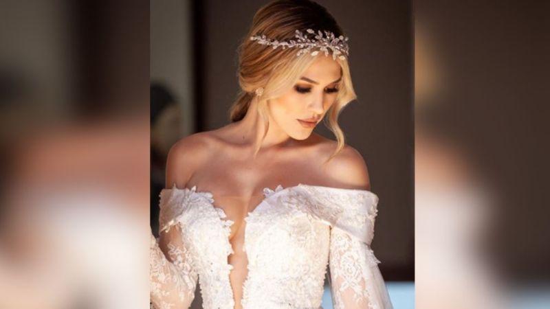Fernanda Gómez revela íntima FOTO de su boda y Saúl 'Canelo' Álvarez reacciona