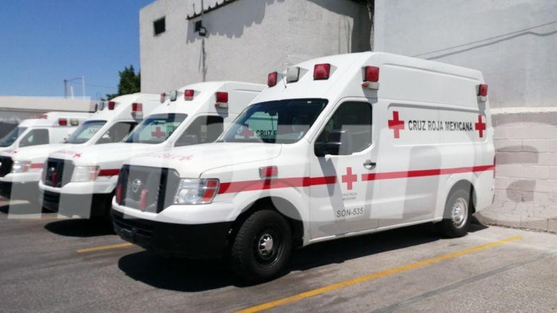 Hermosillo: Durante mayo, enfermos y choques los servicios más solicitados a Cruz Roja