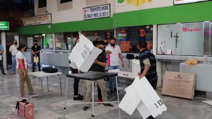 Cajeme: Inicia jornada electoral entre retrasos, cambios de casilla y cero seguridad