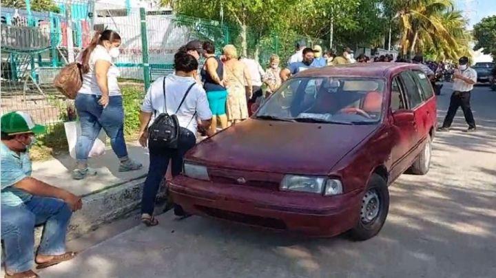 Actos de violencia siguen en elecciones de Campeche: Intentan incendiar carro cerca de casilla