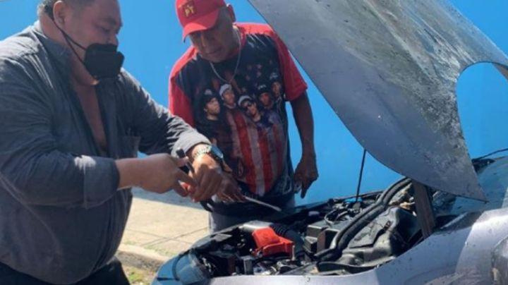 Campeche: 'Grupo de choque' lanza bomba molotov a carro estacionado afuera de casilla