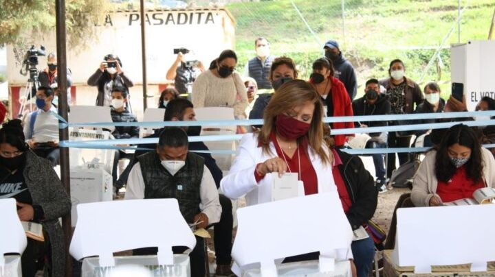 Estos son los candidatos en Tlaxcala que ya han salido a votar en las elecciones 2021