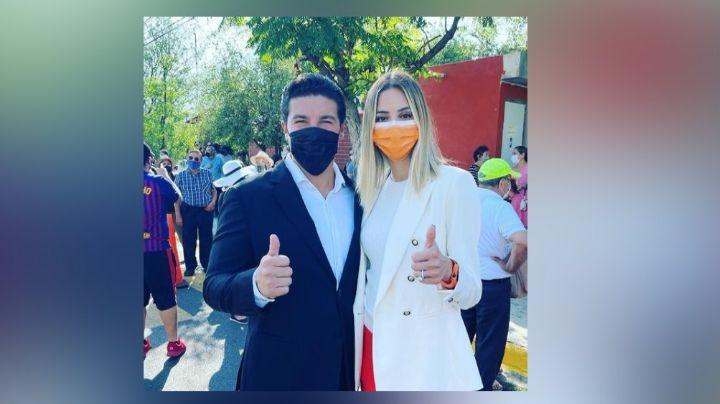 """""""Hoy será un gran día"""": Samuel García, candidato de Movimiento Ciudadano, acude a votar en Nuevo León"""