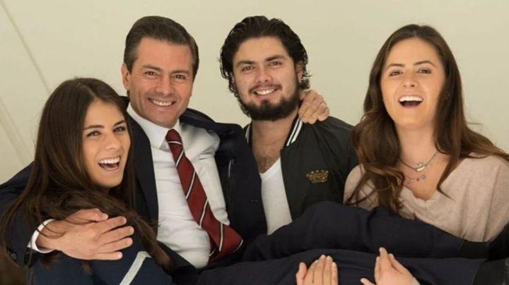 Paulina, Alejandro y Nicole, hijos de Peña Nieto, reaparecen juntos tras emitir su voto