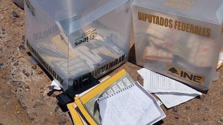 Anularán 350 boletas en Sinaloa: Fueron robadas por un grupo armado en Los Mochis