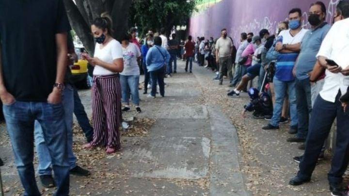 Ciudadanos de SLP reportan tardar hasta 3 horas para emitir su voto en algunas casillas