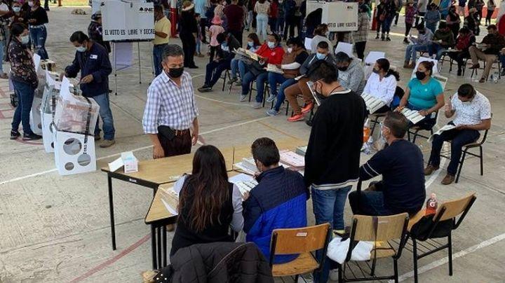 Por personas ajenas al pueblo, suspenden por 45 minutos votación en este municipio de Tlaxcala