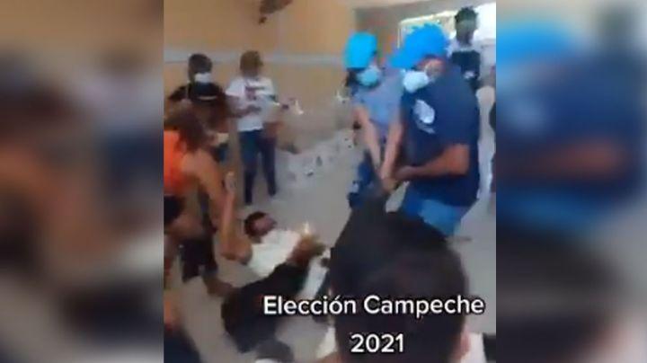¡Indignante! Líderes del PRI, PAN, PRD y MC sacan arrastrando a representante de Morena: VIDEO