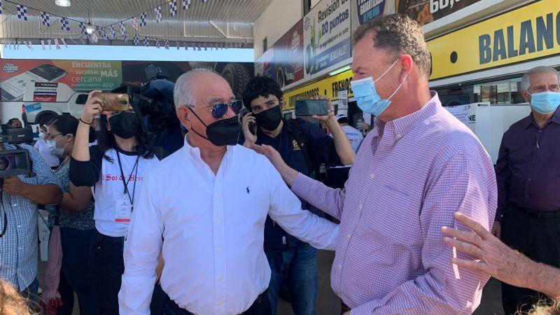 """Ernesto Gándara acude a su casilla a votar: """"Estoy tranquilo porque hicimos la tarea"""""""