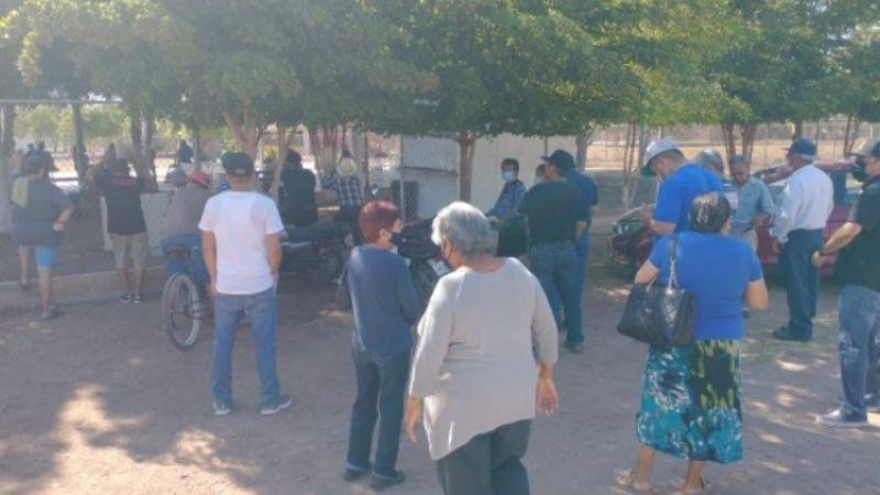 Sonora: Se quejan en Campo 5 de la mala organización para las elecciones 2021