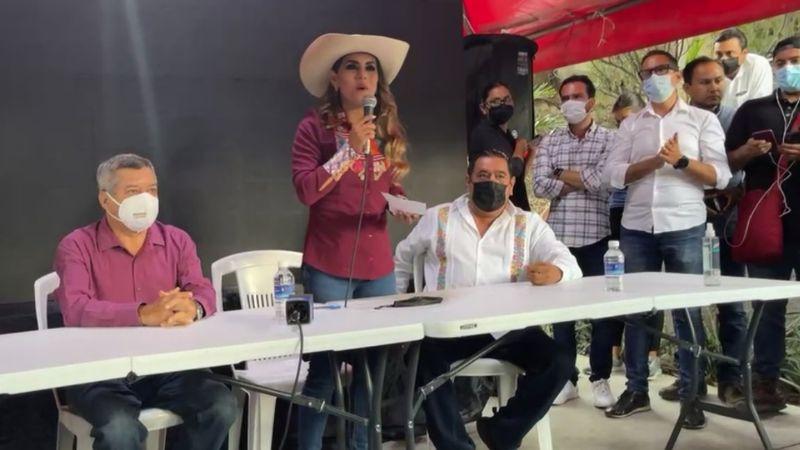 Se adelanta al INE: Evelyn Salgado se declara ganadora de elecciones 2021 en Guerrero