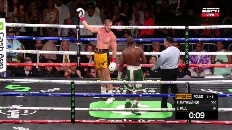 Logan Paul vs Floyd Mayweather: Así fue la pelea entre el youtuber y la leyenda del boxeo