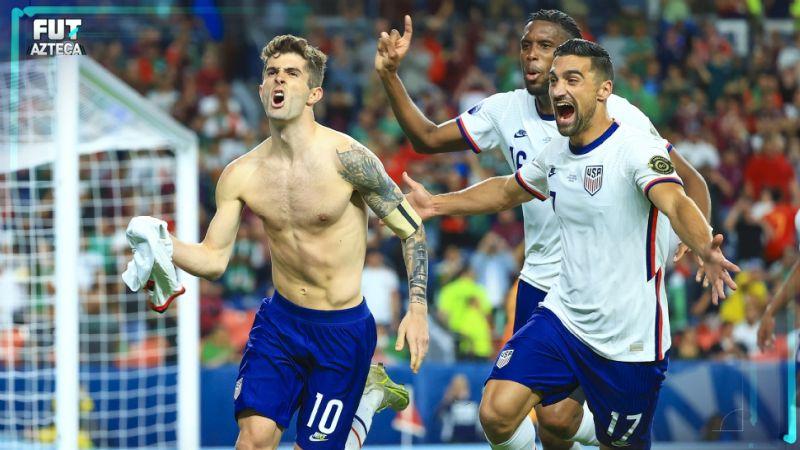Noche negra en Denver; México cae ante Estados Unidos en la final de la Nations League