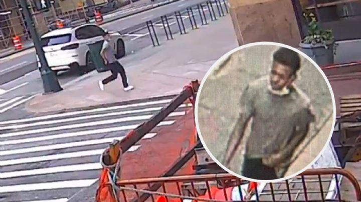 Buscan a un hombre que ahorcó, golpeó e intentó violar a una mujer a plena luz del día
