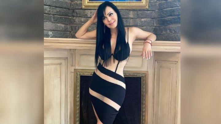 ¡Qué curvas! A sus 62 años, Maribel Guardia modela en Instagram con ajustado vestido