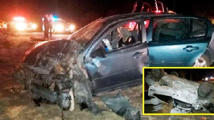 Tragedia en Sonora: Brutal choque carretero deja 8 heridos; hay varios niños entre las víctimas