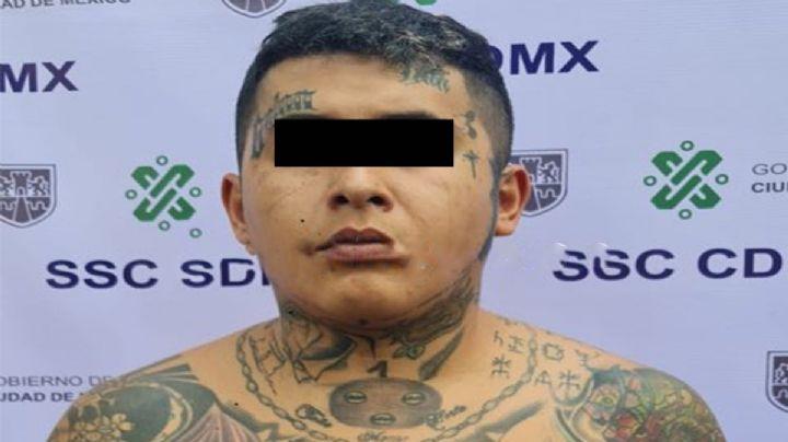 Detienen a 'El Mara', miembro de La Unión Tepito; es sobrino de 'El Lunares'