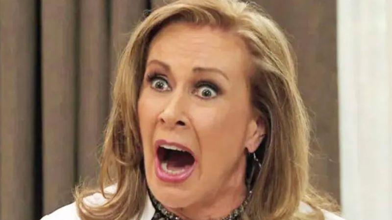 ¿Fue Thalía? Laura Zapata revela que una integrante de su familia le robó a doña Eva Mange