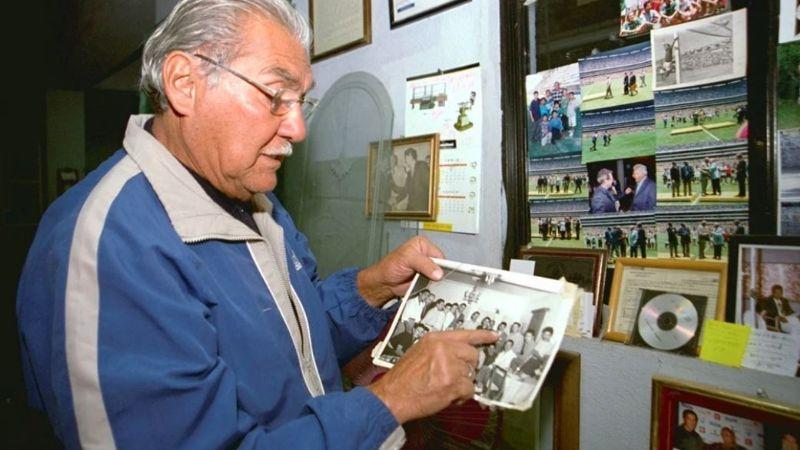 El 'Cinco Copas' de fiesta: 'La Tota' Carbajal festeja 92 años de vida