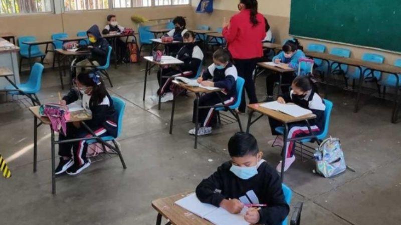 """Con semáforo verde, arranca el retorno """"seguro"""" de clases presenciales en Aguascalientes"""